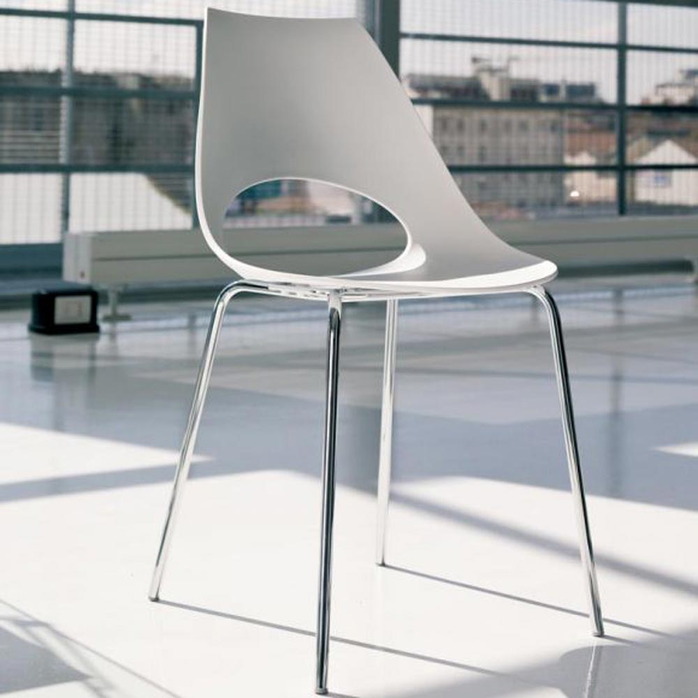Shark Outdoor Dining Chair by Bontempi
