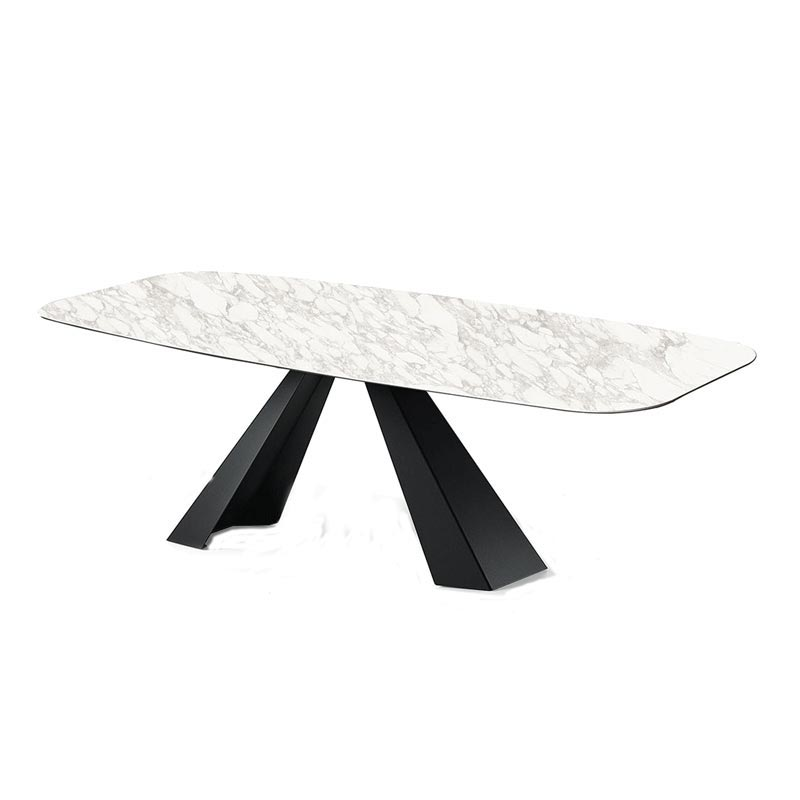 Eliot Keramik Fixed Table by Cattelan Italia