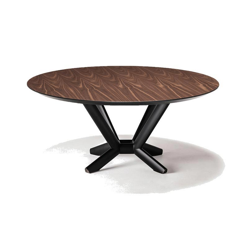 Planer Round Wood Fixed Table by Cattelan Italia