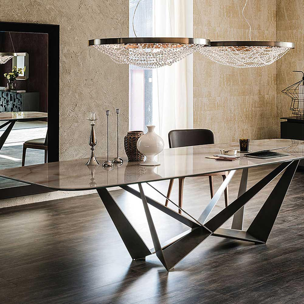 Skorpio Keramik Fixed Table by Cattelan Italia