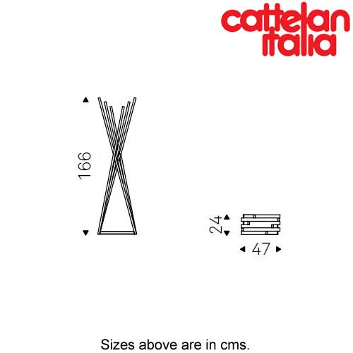 Oscar Coat Hanger by Cattelan Italia