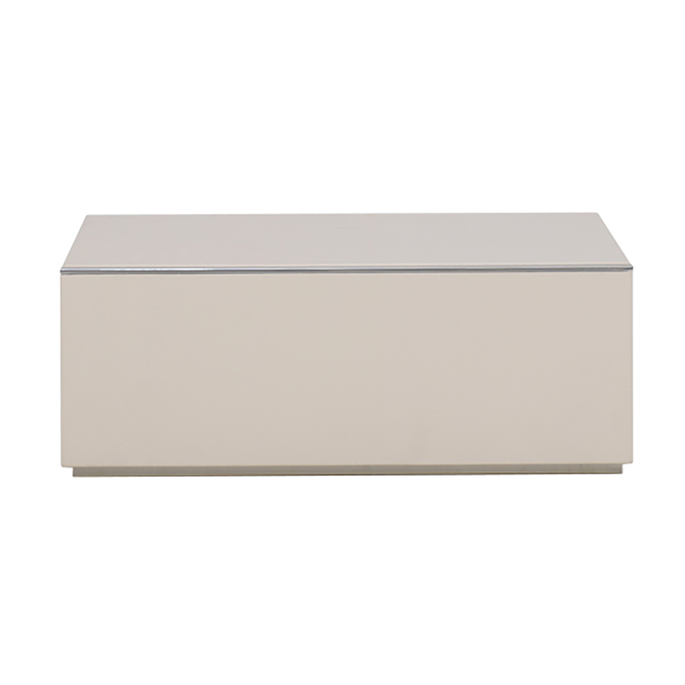 Sqaure New Single Drawer Bedside Table by Cierre