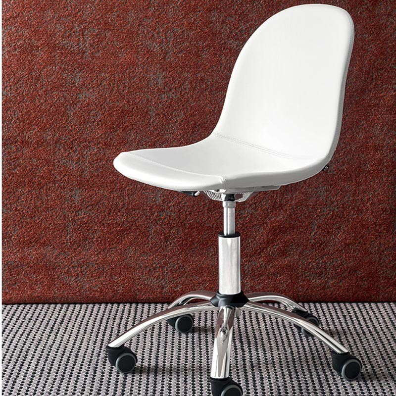 Academy Metal Frame Swivel Chair by Connubia Calligaris