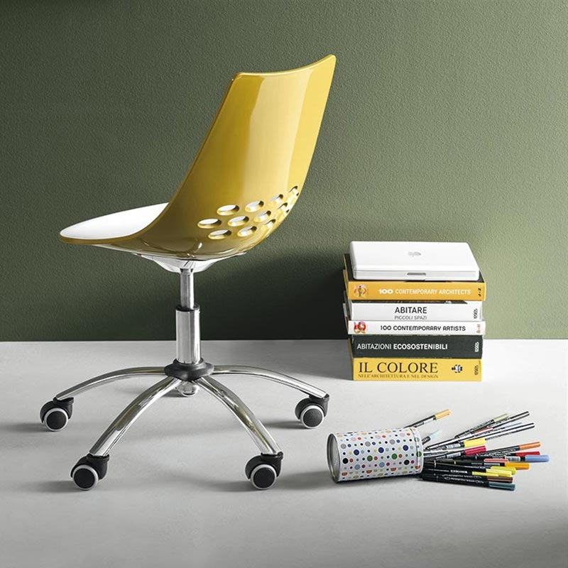 Jam Swivel Chair by Connubia Calligaris