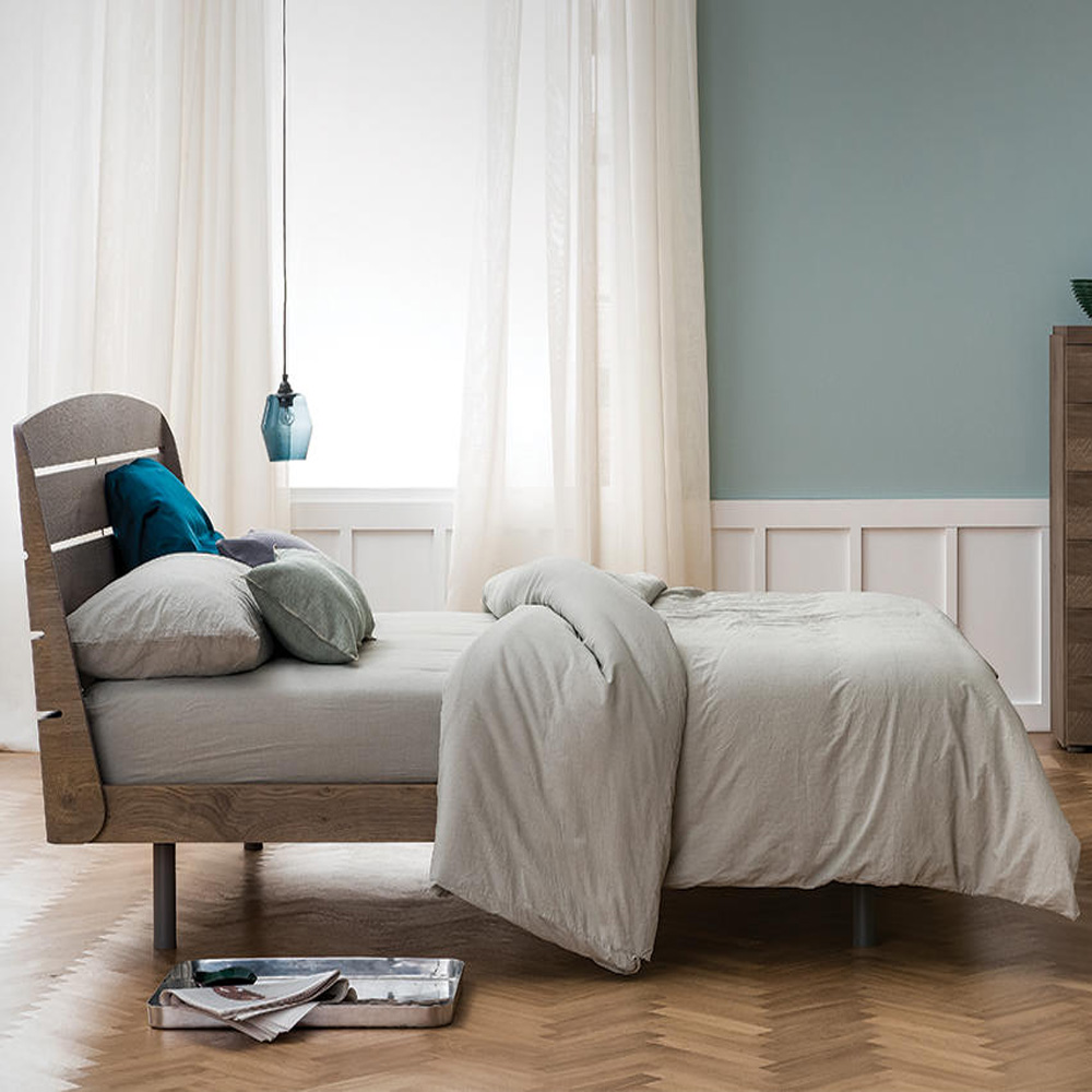 Bolero Double Bed by Dallagnese