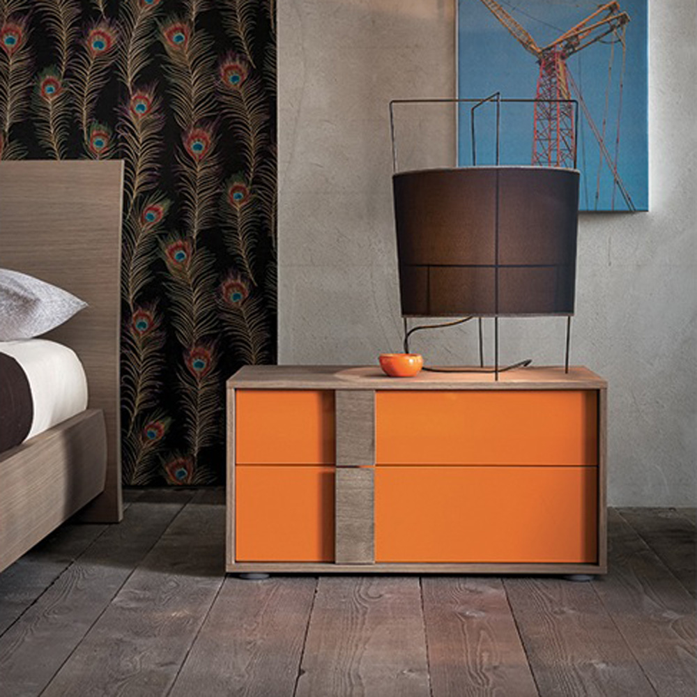Flipper Bedside Table by Dallagnese