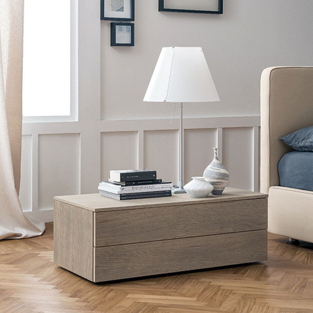 Slim Bedside Table by Dallagnese
