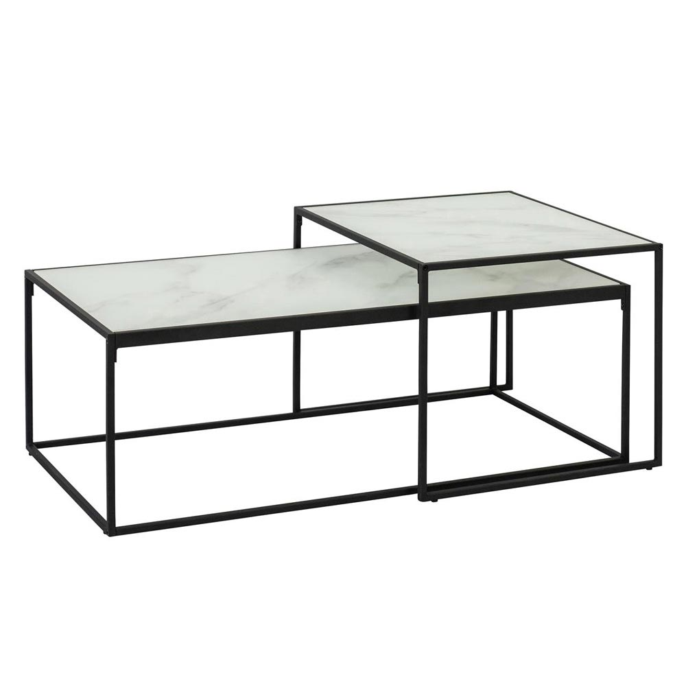 Bolton Glass Coffee Table By Dk Modern