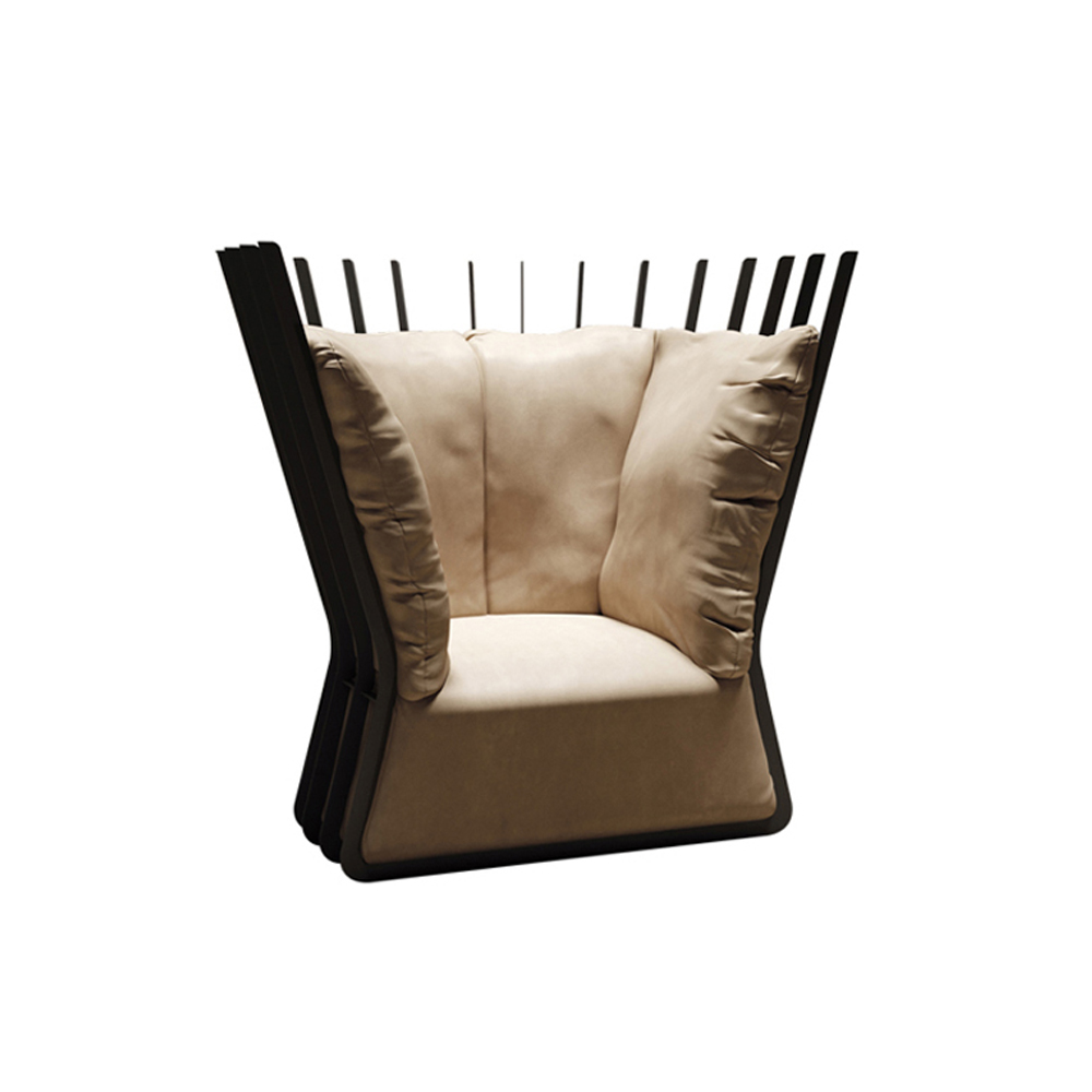 Amelie Armchair Essence Collection by Naustro Italia
