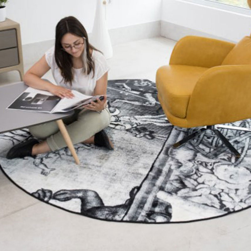 Picture Collection Rug by Fama