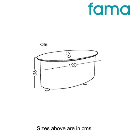 Otis Coffee Table by Fama