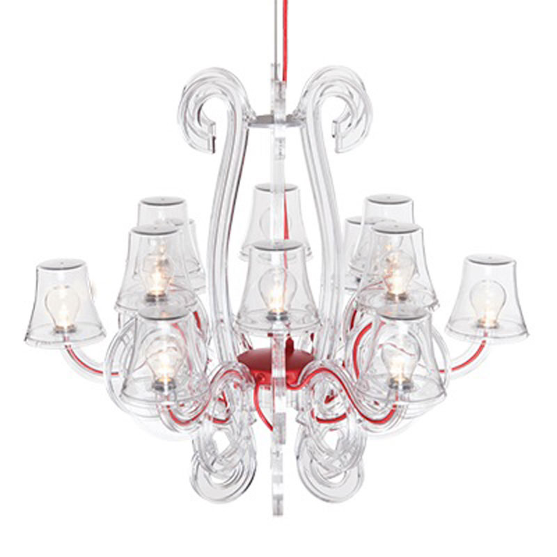 Rockcoco 12-0 Transparent Chandelier by Fatboy