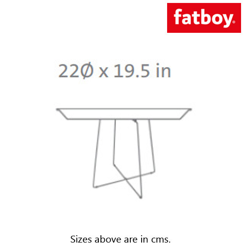 Plat-O Side Table by Fatboy