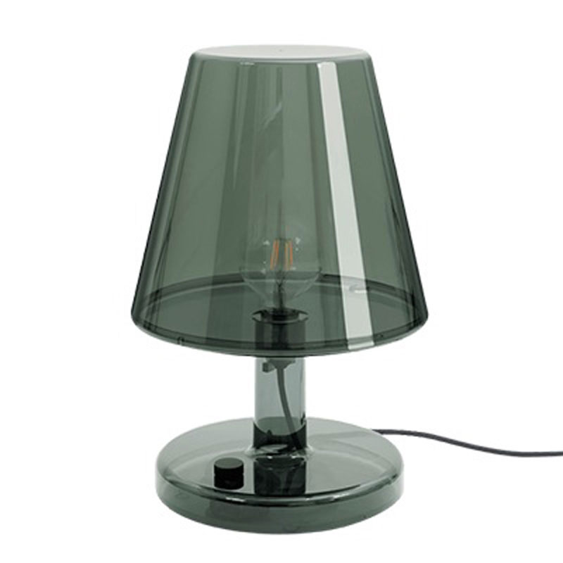 Trans-Parent Dark Grey Table Lamp by Fatboy
