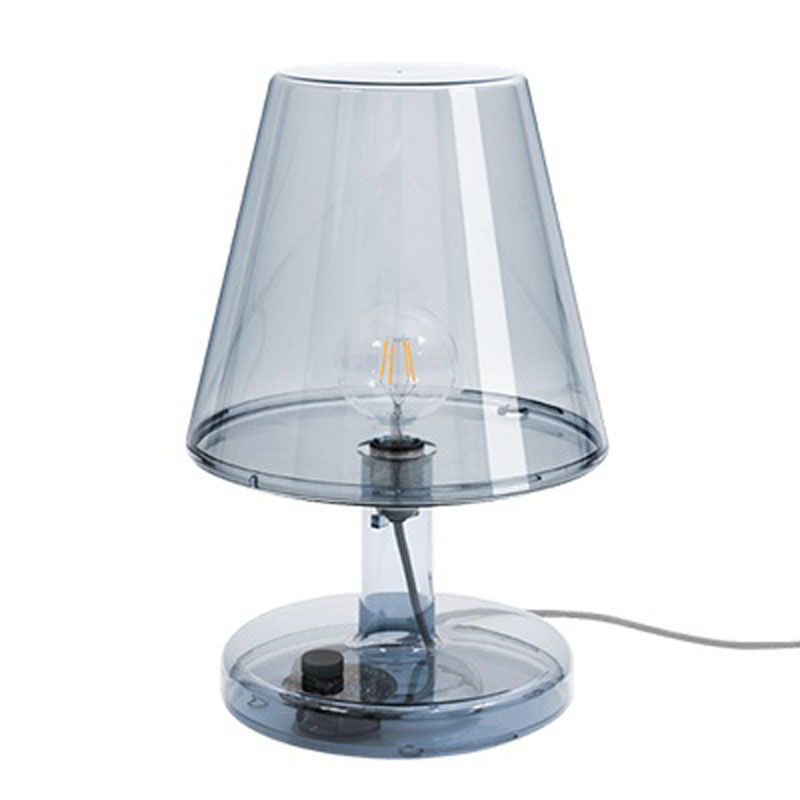Trans-Parent Grey Table Lamp by Fatboy