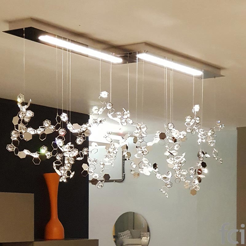 Crystalon 3000K Pendant Light by Swarovski