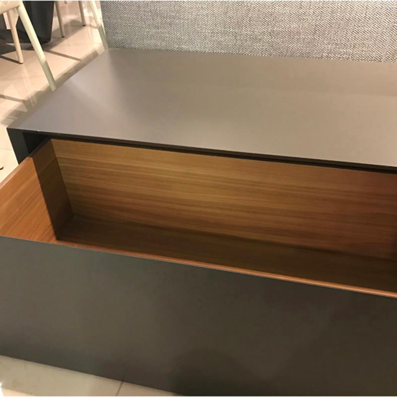 Dab With Drawer Coffee Table by Kent