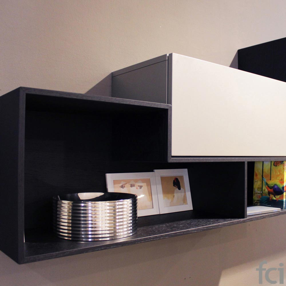 Tv Unit by Logo - Graphite