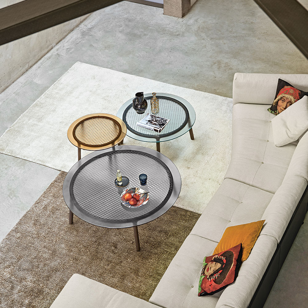 Cannage Coffee Table by Fiam Italia