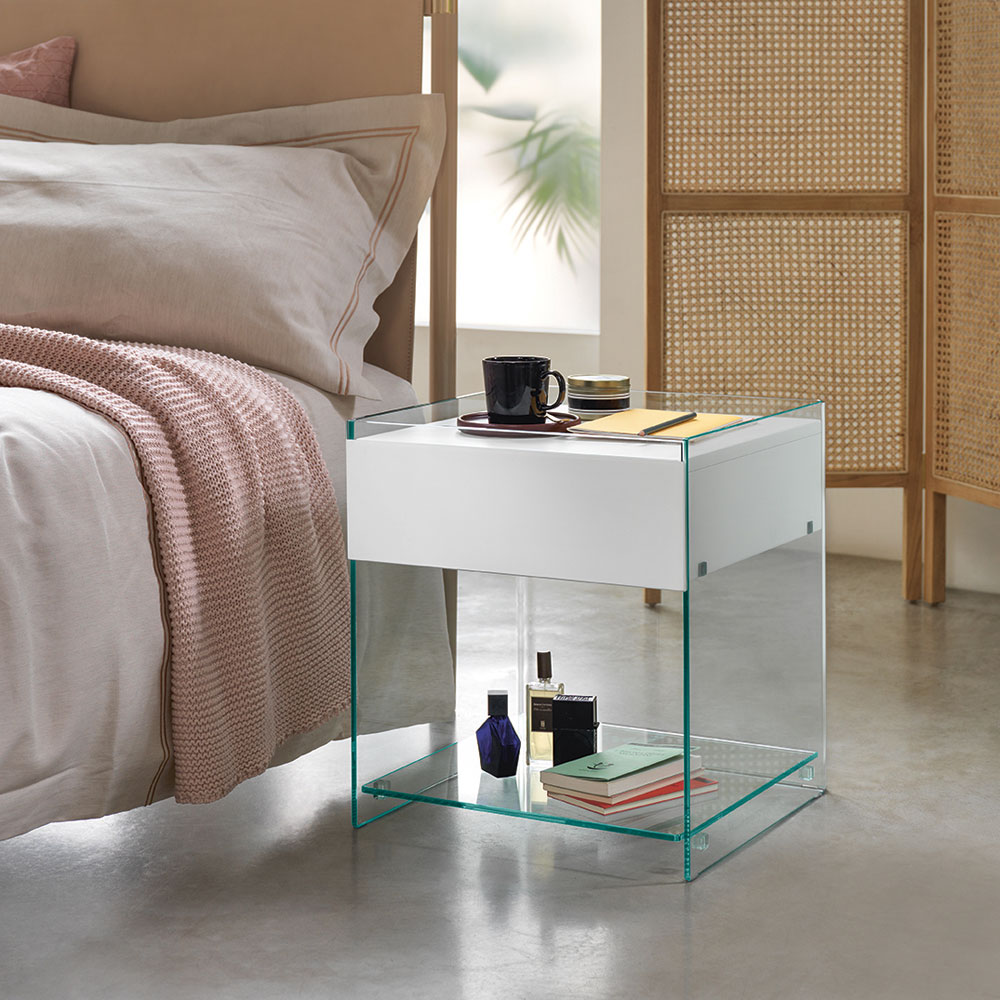 Dino Bedside Table by Fiam Italia