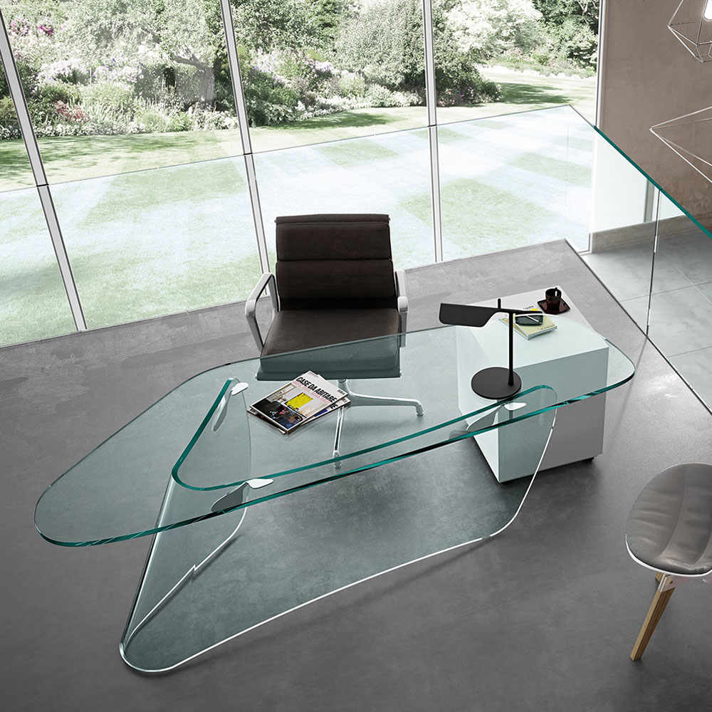 Graph Office Desk by Fiam Italia