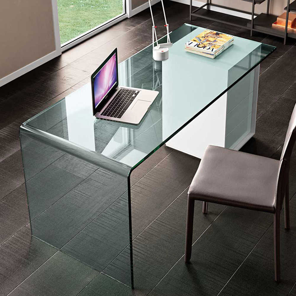 Rialto L Office Desk by Fiam Italia
