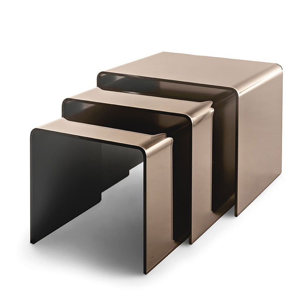 Rialto Tris Bedside Table by Fiam Italia