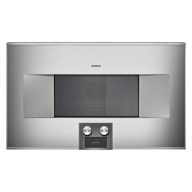 Combi Microwave Oven 400 Series BM485110 by Gaggenau