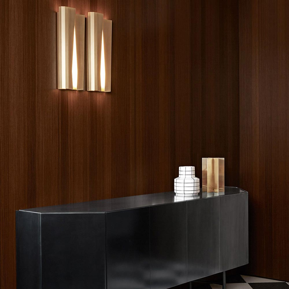 Ori Wall Lamp by Gallotti & Radice