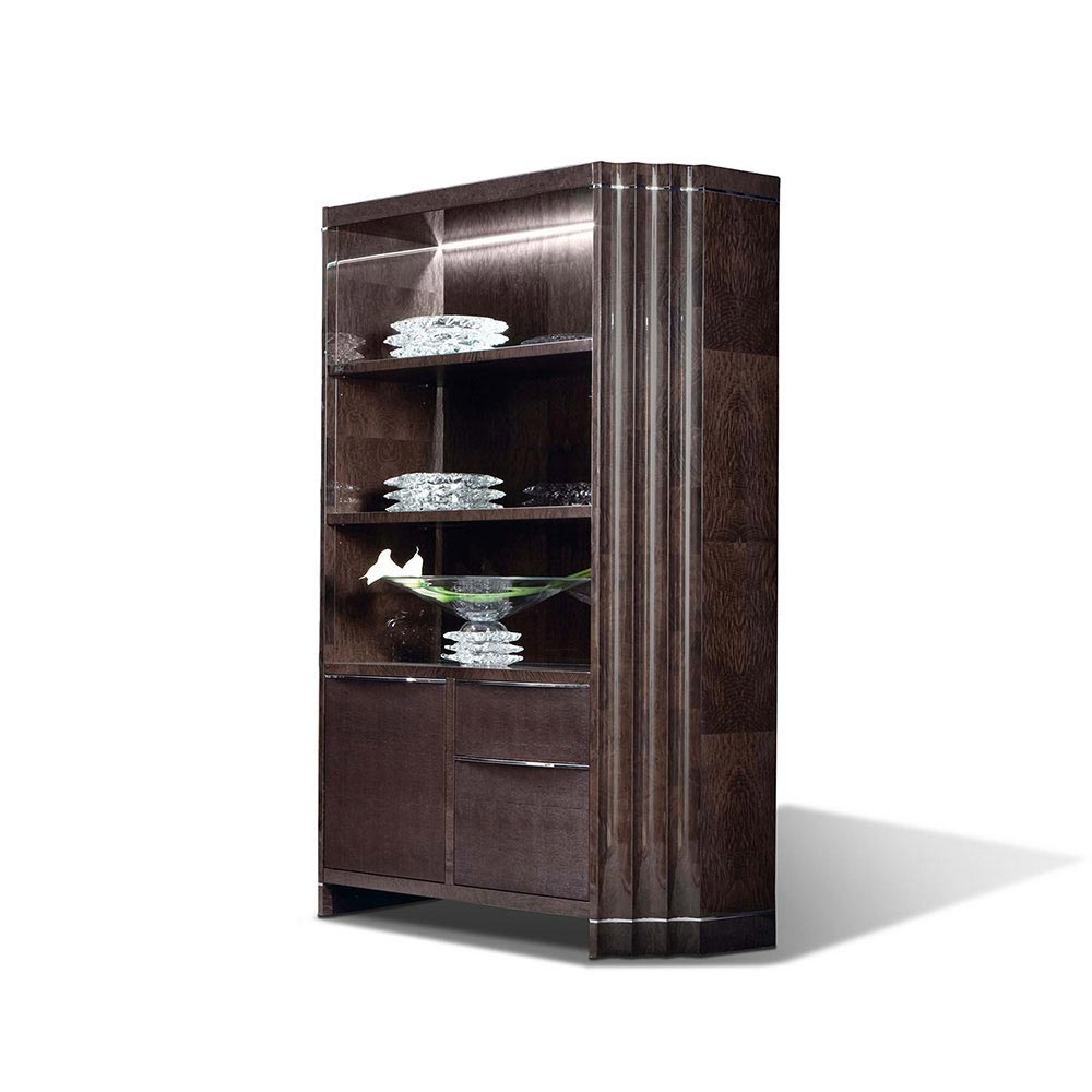 Absolute Single Bookcase by Giorgio Collection
