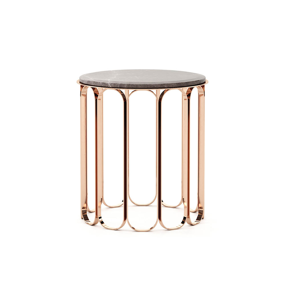 Cheryl Side Table by Laskasas