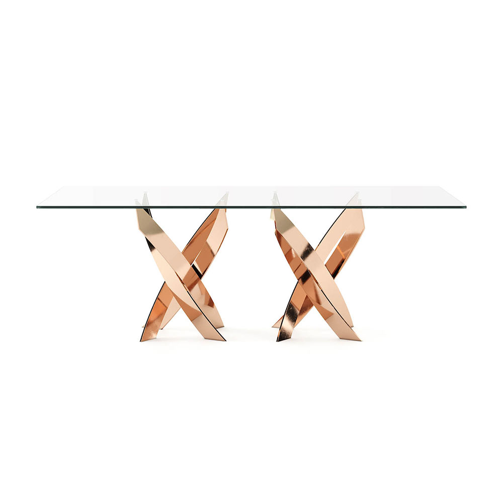 Twisted Dining Table by Laskasas