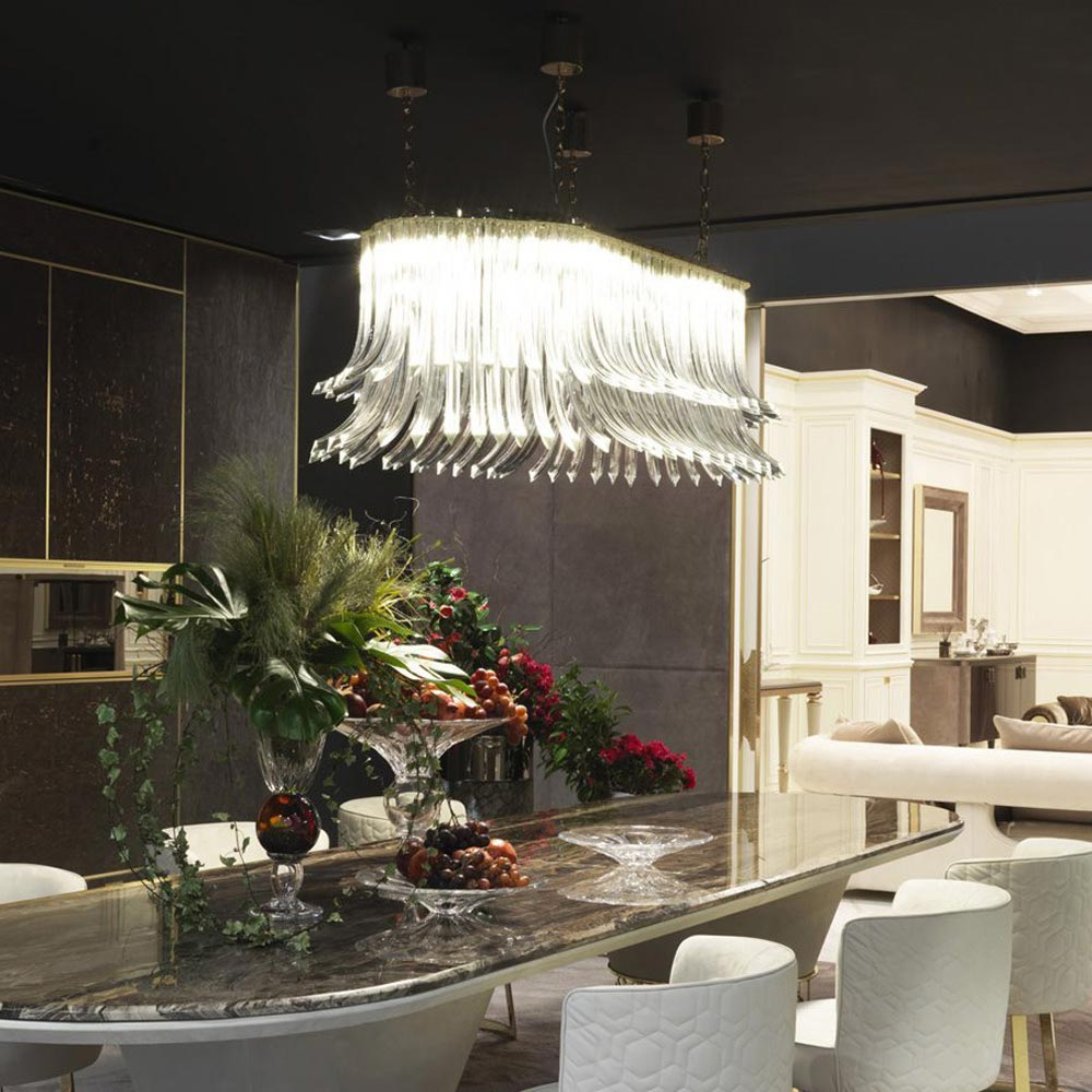 Dalma Ceiling Lamp by Longhi