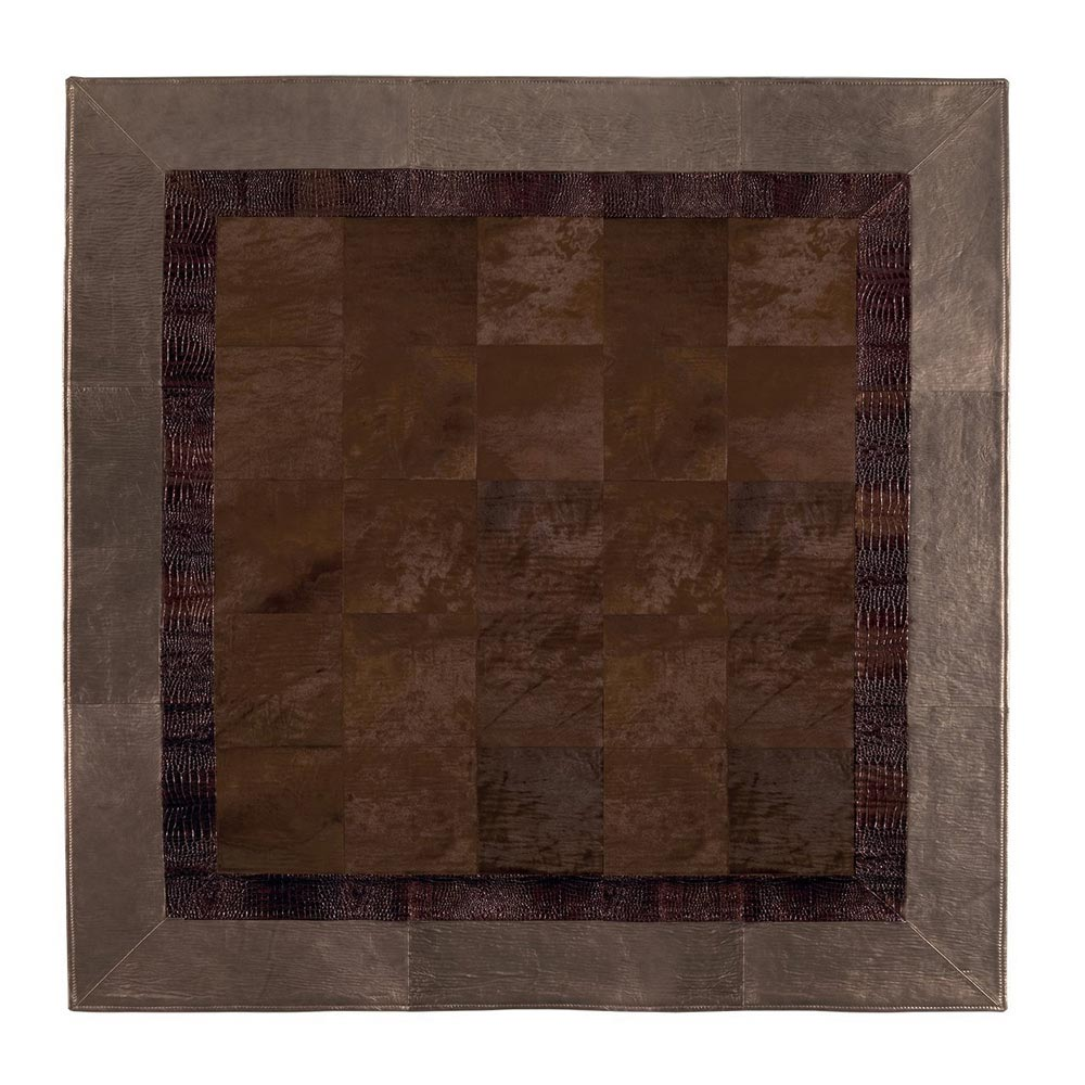 Leather Carpets Rug by Longhi