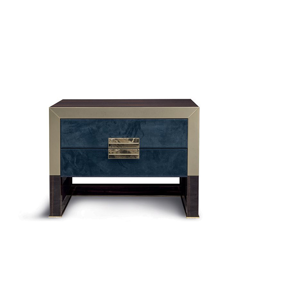 Orwell Bedside Table by Longhi