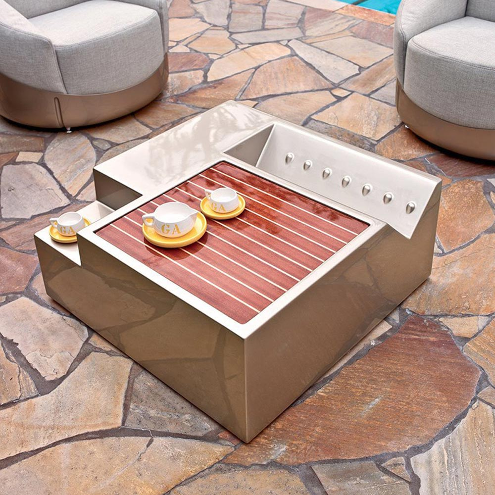 Roadster Coffee Table by Longhi