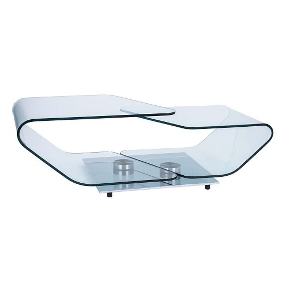 Curvo Extending Coffee Table by Naos