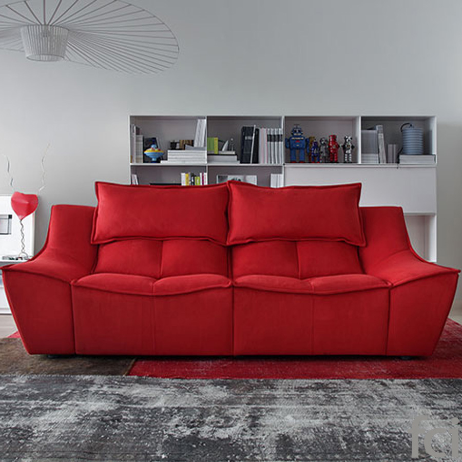 Hip Hop Sofa by Naustro Italia Milano Collection