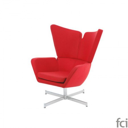 Papillon Swivel Chair by Naustro Italia