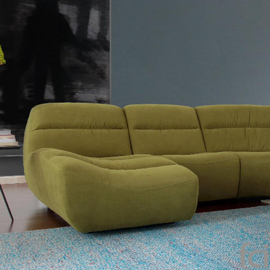 Rio Relax Sofa by Naustro Italia Milano Collection