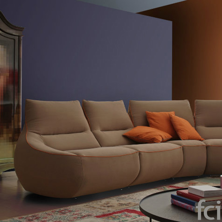 Rumba Sofa by Naustro Italia Milano Collection
