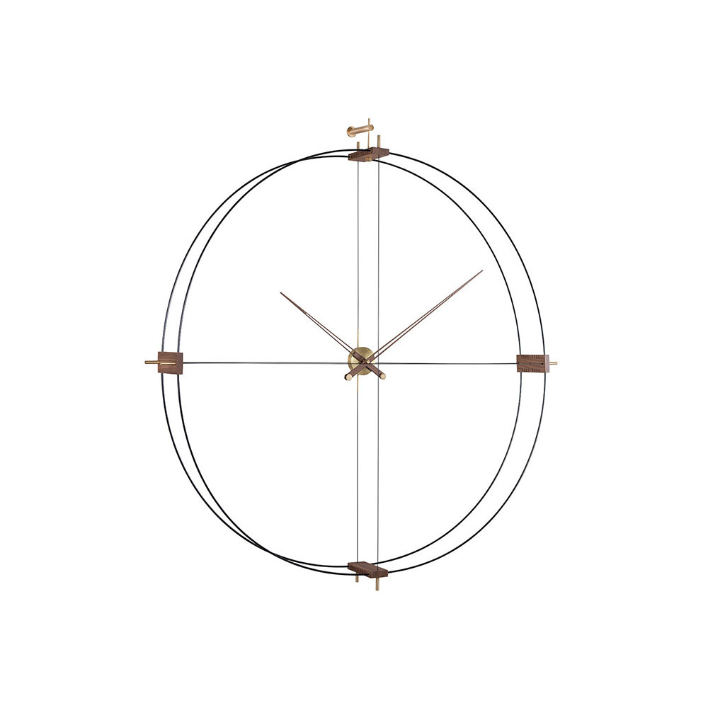 Delmori Clock by Nomon Clocks