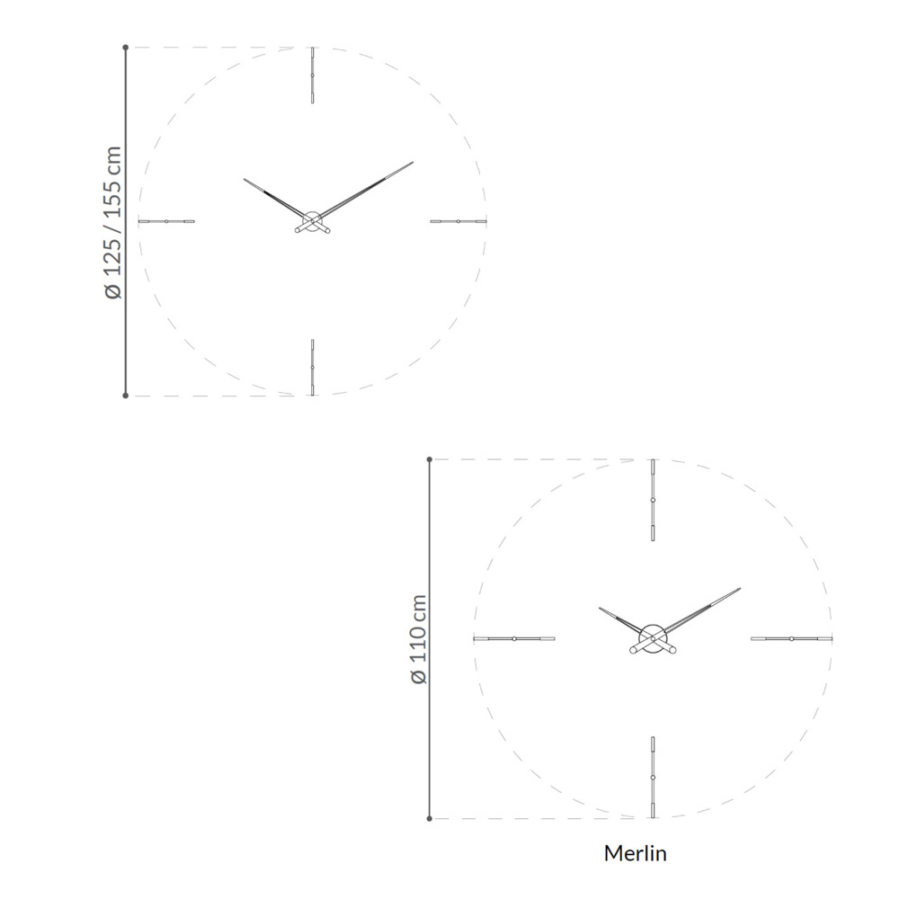 Pendulum Clock by Nomon Clocks