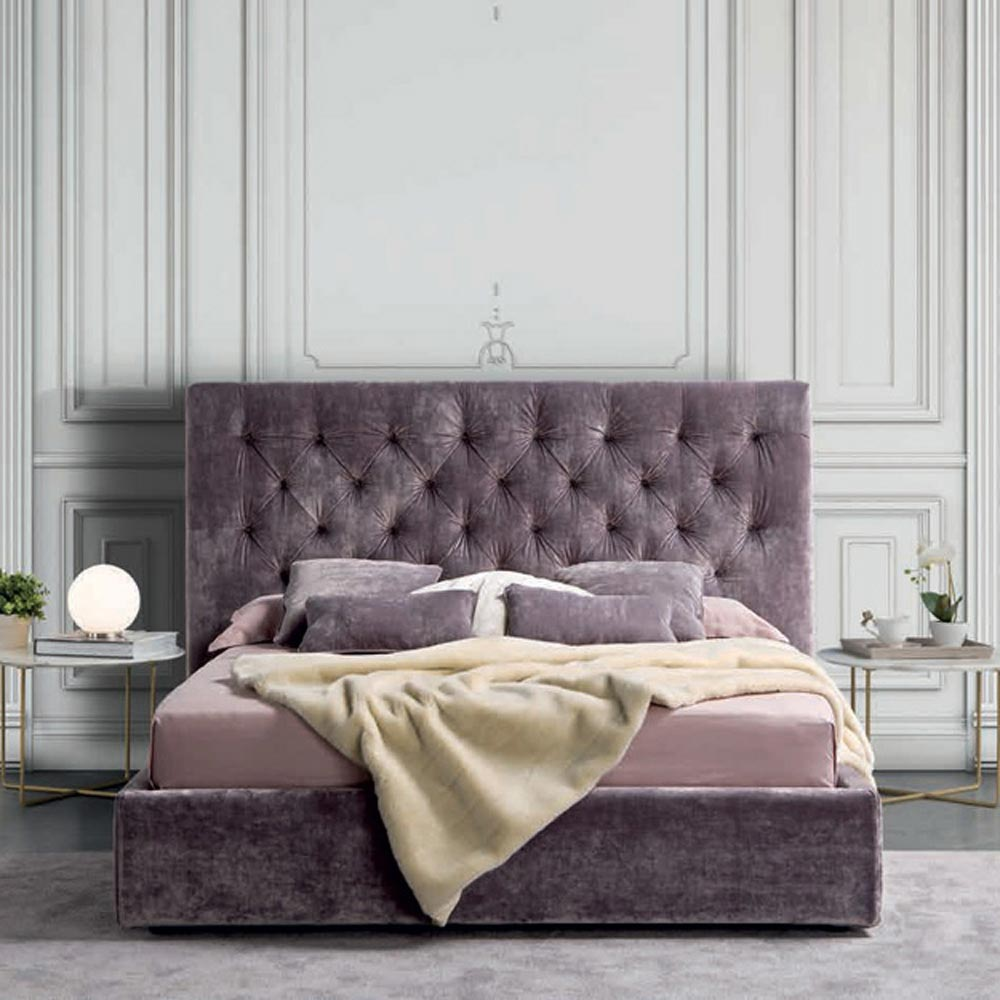 Capitonne Double Bed By Notte Dorata
