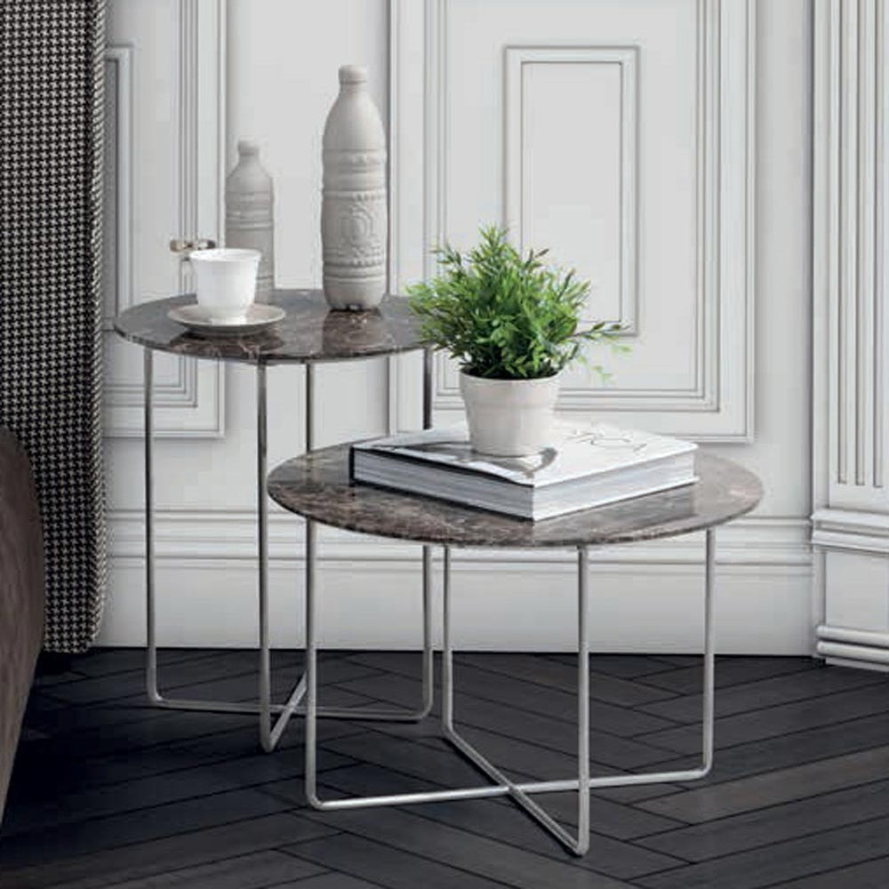 Cris High Side Table By Notte Dorata