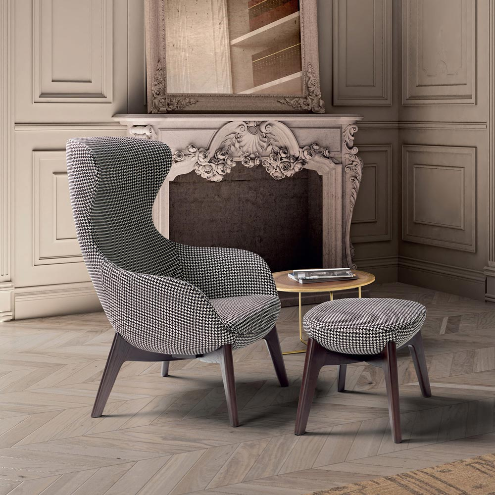 Queen Armchair By Notte Dorata