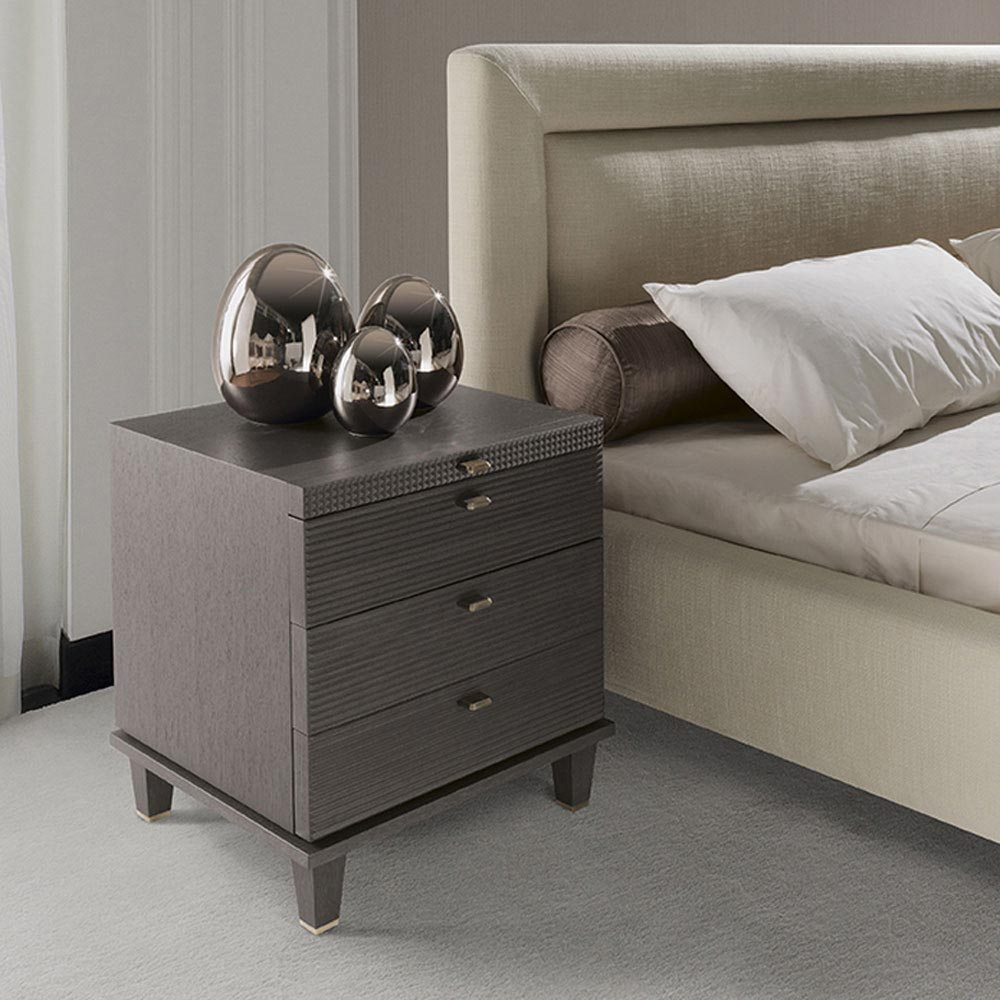 Dimitri Bedside Table by Opera Contemporary