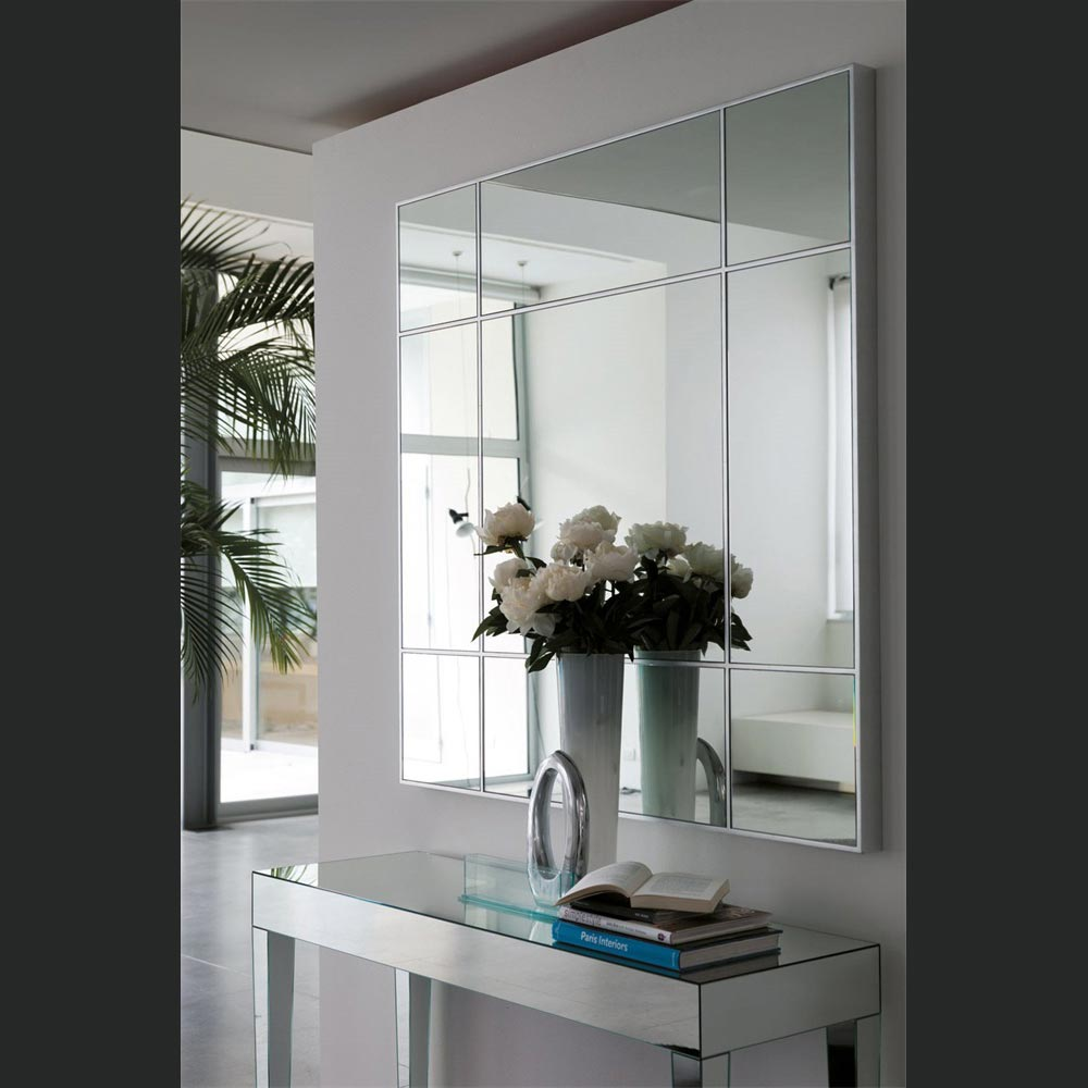 Four Seasons Square Mirror by Porada