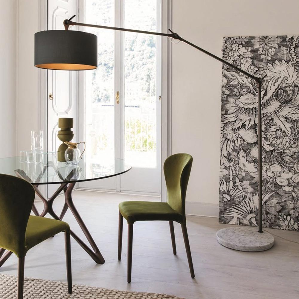 Gary Big Floor Lamp by Porada