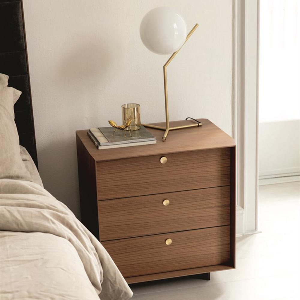 Sonja Night 2 Bedside Table by Porada